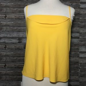 TOPSHOP yellow top